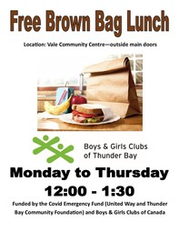 Brown Bag Lunch Poster Vale